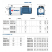 Многоступенчатый насос Pedrollo PLURIJET 3/130 (380V)