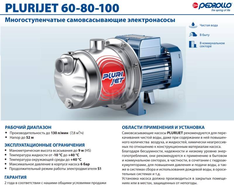 PluriJet 60-80-100- 1